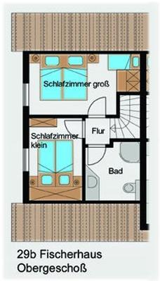 Ferienhaus Fischerhaus (127755), Groß Zicker, Rügen, Mecklenburg-Vorpommern, Deutschland, Bild 18