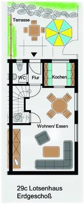 Ferienhaus Lotsenhaus (127776), Groß Zicker, Rügen, Mecklenburg-Vorpommern, Deutschland, Bild 13