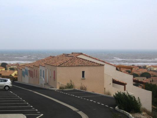 Ferienhaus Terrassenhaus Mer-Indigo mit Sonnenterrasse und 180 Grad traumhaftem Blick  über dem Meer (129969), Saint Pierre sur Mer, Mittelmeerküste Aude, Languedoc-Roussillon, Frankreich, Bild 8