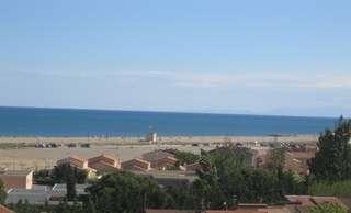 Ferienhaus Terrassenhaus Mer-Indigo mit Sonnenterrasse und 180 Grad traumhaftem Blick  über dem Meer (129969), Saint Pierre sur Mer, Mittelmeerküste Aude, Languedoc-Roussillon, Frankreich, Bild 3