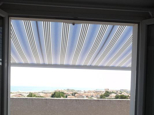 Ferienhaus Terrassenhaus Mer-Indigo mit Sonnenterrasse und 180 Grad traumhaftem Blick  über dem Meer (129969), Saint Pierre sur Mer, Mittelmeerküste Aude, Languedoc-Roussillon, Frankreich, Bild 18