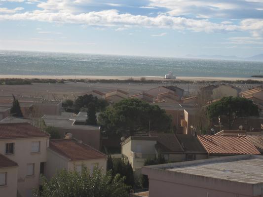 Ferienhaus Terrassenhaus Mer-Indigo mit Sonnenterrasse und 180 Grad traumhaftem Blick  über dem Meer (129969), Saint Pierre sur Mer, Mittelmeerküste Aude, Languedoc-Roussillon, Frankreich, Bild 13
