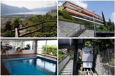 Holiday apartment Casa Panoramica Apt. 5 (1413469), Orselina, Lake Maggiore (CH), Ticino, Switzerland, picture 3