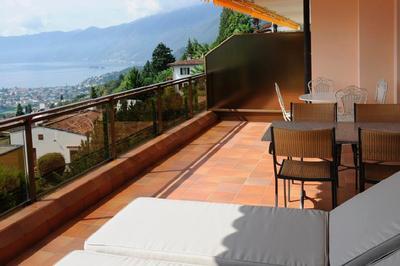 Holiday apartment Casa Panoramica Apt. 5 (1413469), Orselina, Lake Maggiore (CH), Ticino, Switzerland, picture 2