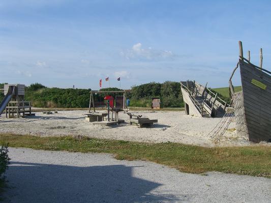 Spielplatz am Trockenstrand