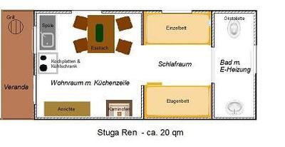 Ferienhaus Stuga Ren (1462682), Sorsele, Västerbottens län, Nordschweden, Schweden, Bild 11