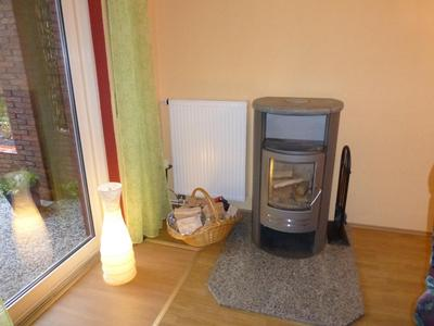 Ein Kamin in den kalten Wintermonaten sorgt für kuschelig-warme Tage im Ferienhaus