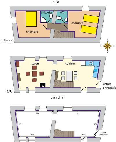 Ferienhaus LE COTTAGE a Marcenay, Bourgogne (1492637), Marcenay, Côte d'Or, Burgund, Frankreich, Bild 3
