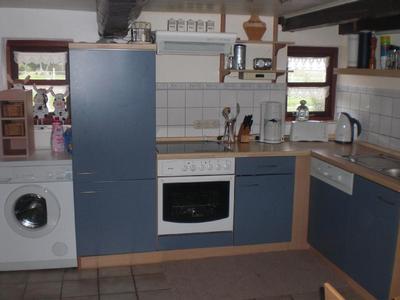 Küche / EBK mit Waschmaschine, Spülmaschine etc.