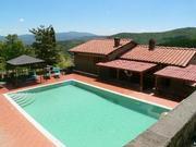 Corona Sicher - Freistehende Toskana Villa mit 5 h Ferienhaus in Italien