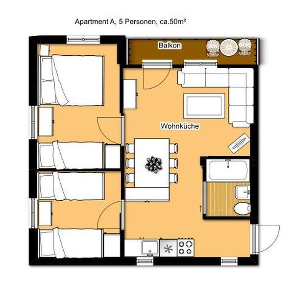 Ferienwohnung Apartment 5 Personen (152585), Klippitztörl, Lavanttal, Kärnten, Österreich, Bild 5