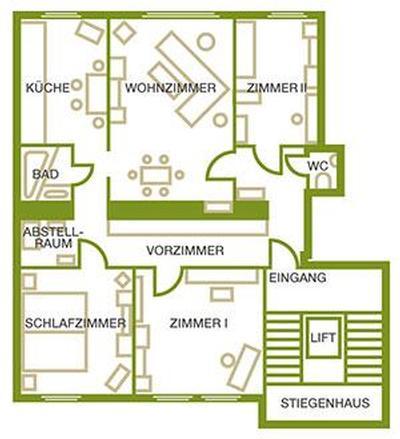 Holiday apartment 100m² Apartment Donaublick (1521090), Vienna, , Vienna, Austria, picture 2