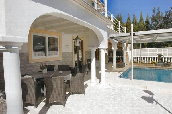 top ferienhaus calpe mit 2 wohnungen costa blanca. Black Bedroom Furniture Sets. Home Design Ideas