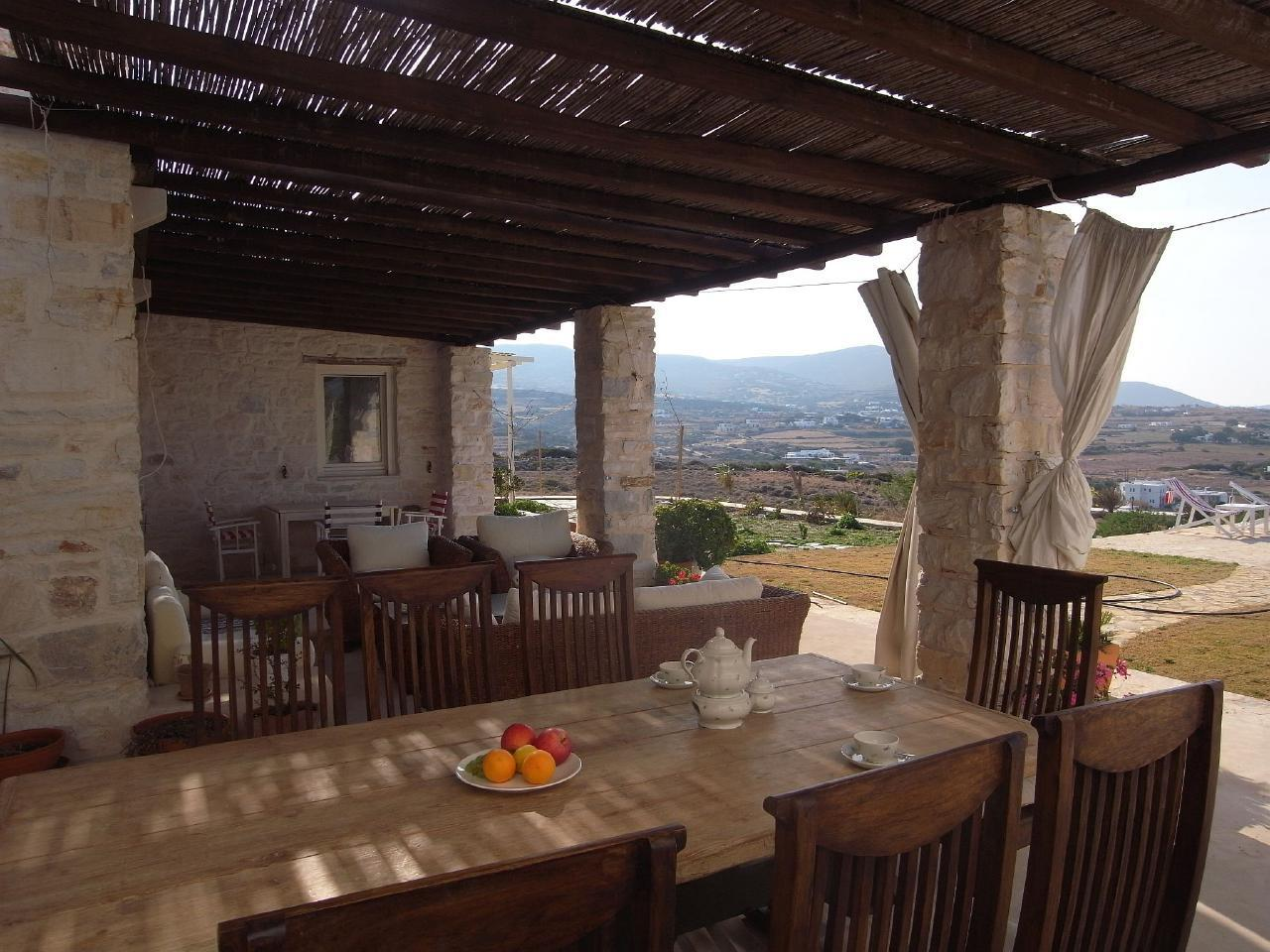 Holiday house Naousa, Familienhaus (2-10 Pers.), privater Pool, ruhig und zentral (1569599), Paros, Paros, Cyclades, Greece, picture 14