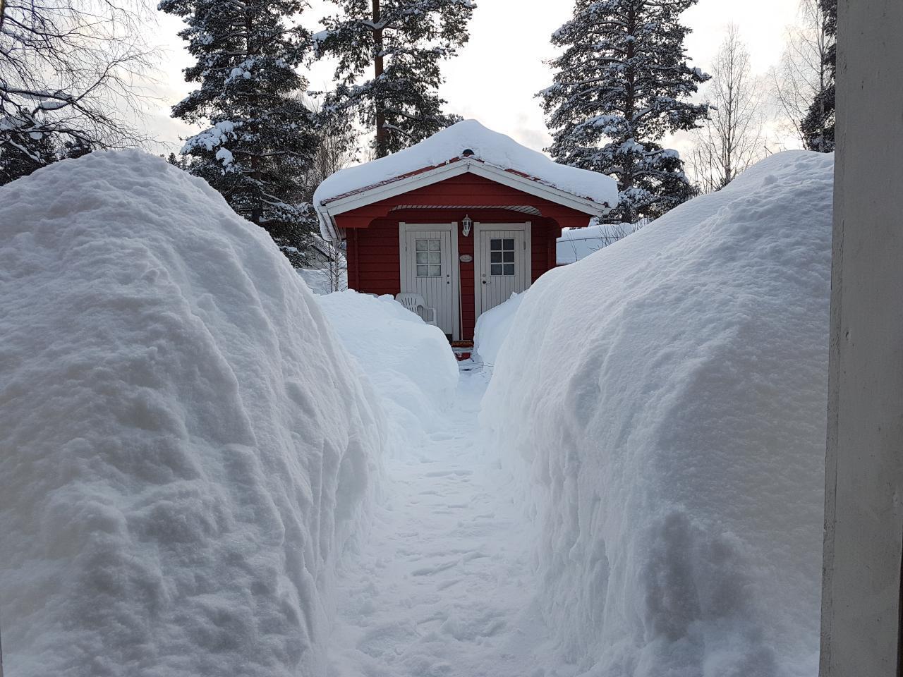 Ferienhaus Villa Elsy, nur 5 km vom Storforsen, Schwedens größten Stromschnellen entfernt (1574139), Vidsel, Norrbottens län, Nordschweden, Schweden, Bild 24
