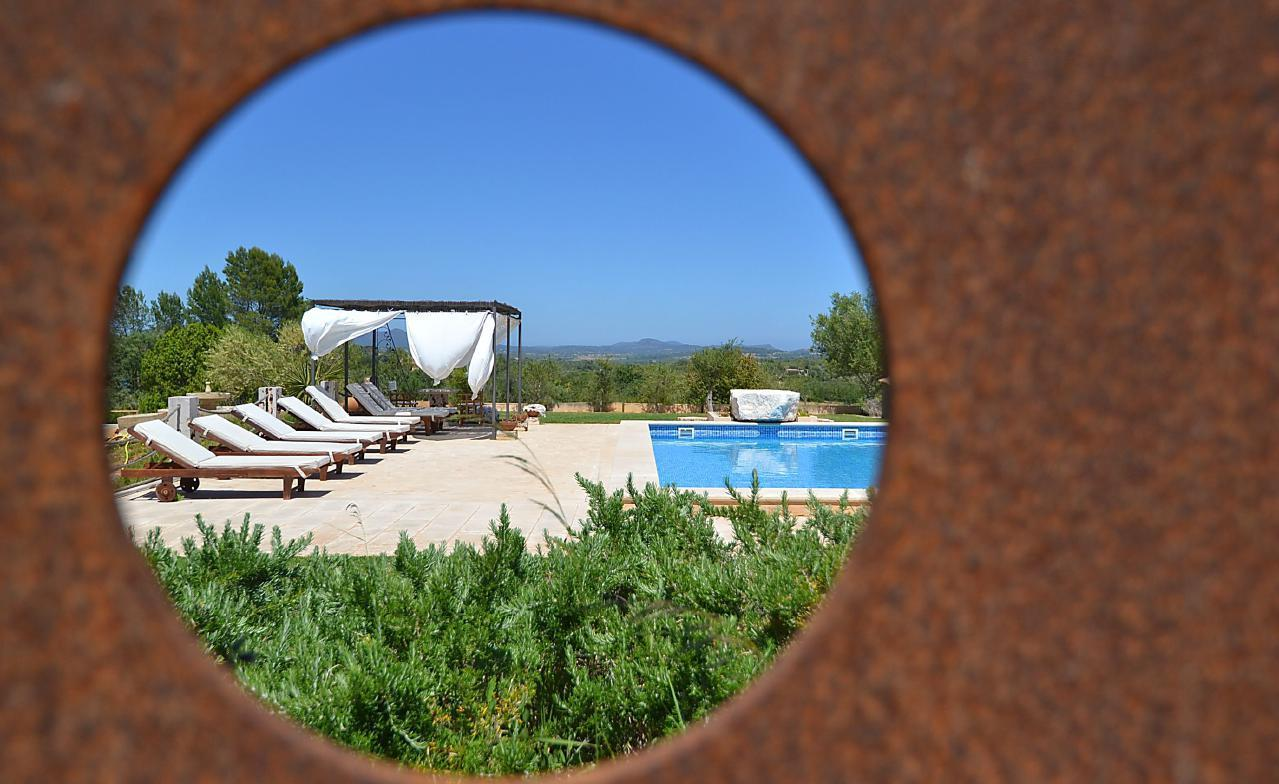 Ferienhaus Restaurierte Villa mit Meerblick, 10 Automin. von den Stränden