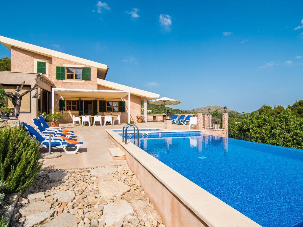 Ferienhaus Son Macia für 7 Personen in Traumlage mit Meerblick Pool Wifi