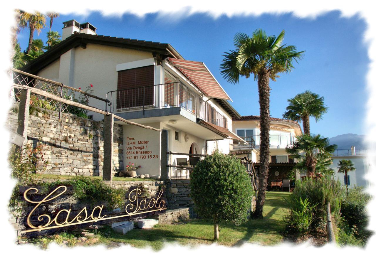 Holiday apartment Casa Paolo Brissago (1640299), Brissago, Lake Maggiore (CH), Ticino, Switzerland, picture 1