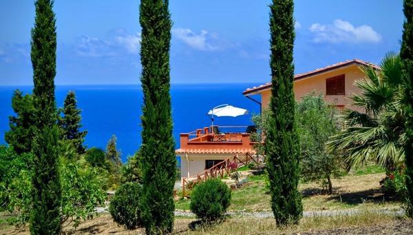 Maison de vacances TERRAMARE - Wohnung in einer Villa mit Meerblick (1660320), Tusa, Messina, Sicile, Italie, image 13