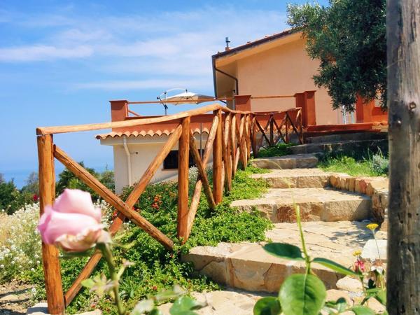Maison de vacances TERRAMARE - Wohnung in einer Villa mit Meerblick (1660320), Tusa, Messina, Sicile, Italie, image 15