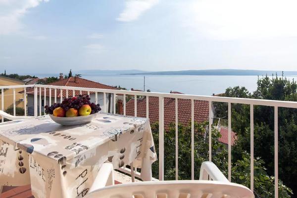 Ferienwohnung LAST MINUTE! Ferienwohnung in Strandnähe mit außergewöhnlichem Blick auf das Meer (1663873), Crikvenica, , Kvarner, Kroatien, Bild 1