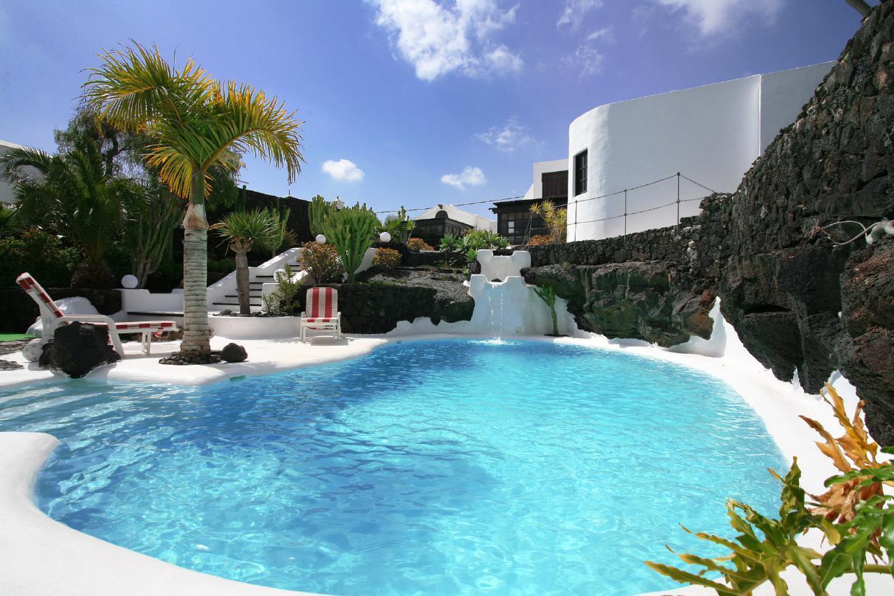 Holiday house CASA TEIGA LUNA 3 SCHLAFZIMMER VILLA MIT POOL UND TERASSE (1682022), Tahiche, Lanzarote, Canary Islands, Spain, picture 2