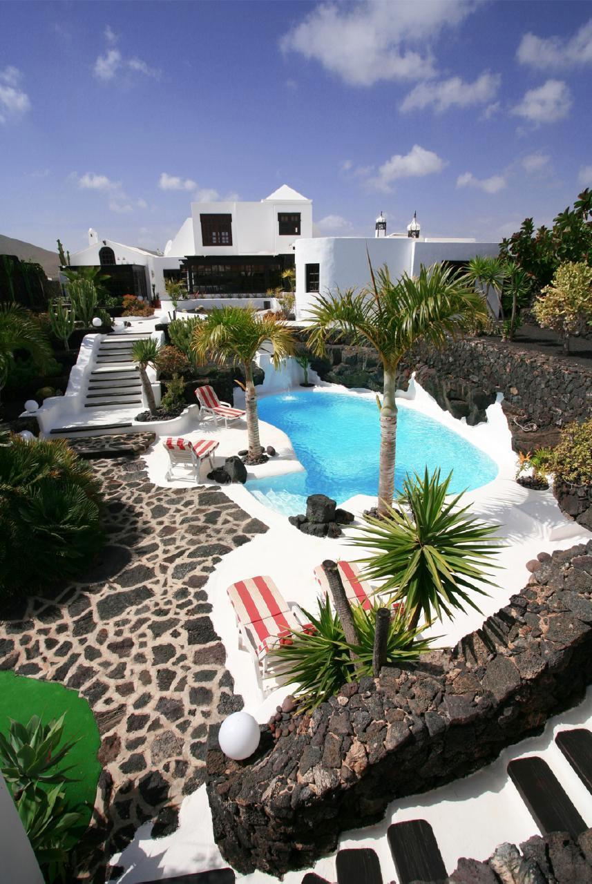 Holiday house CASA TEIGA LUNA 3 SCHLAFZIMMER VILLA MIT POOL UND TERASSE (1682022), Tahiche, Lanzarote, Canary Islands, Spain, picture 15
