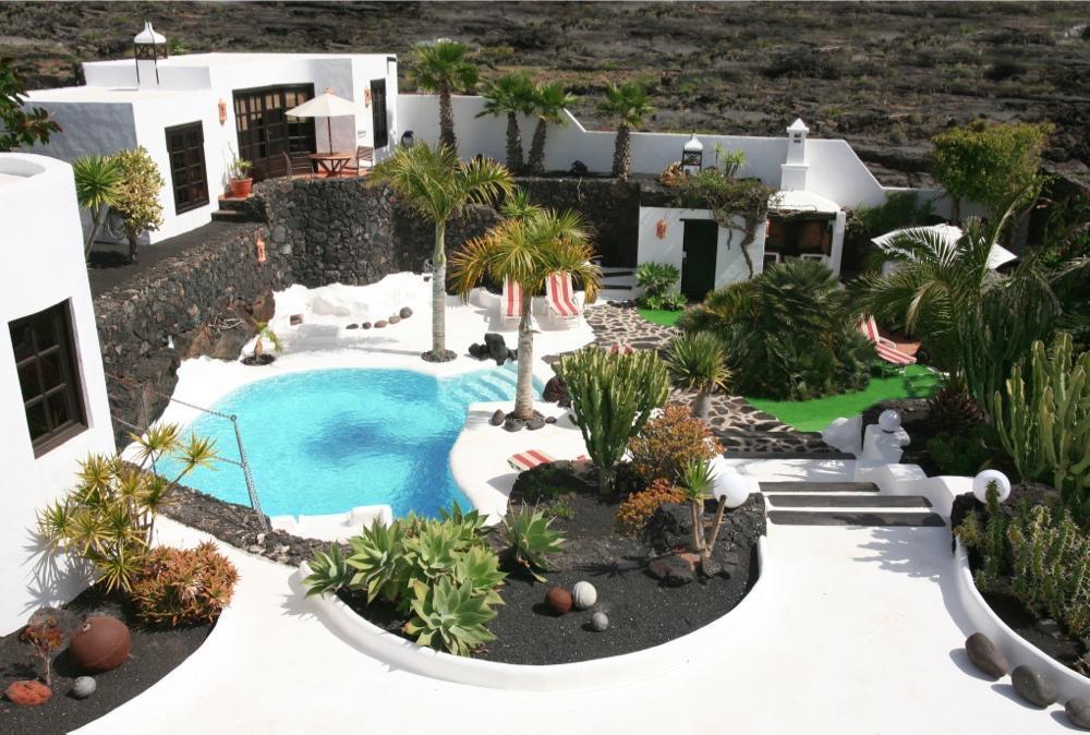 Holiday house CASA TEIGA LUNA 3 SCHLAFZIMMER VILLA MIT POOL UND TERASSE (1682022), Tahiche, Lanzarote, Canary Islands, Spain, picture 12