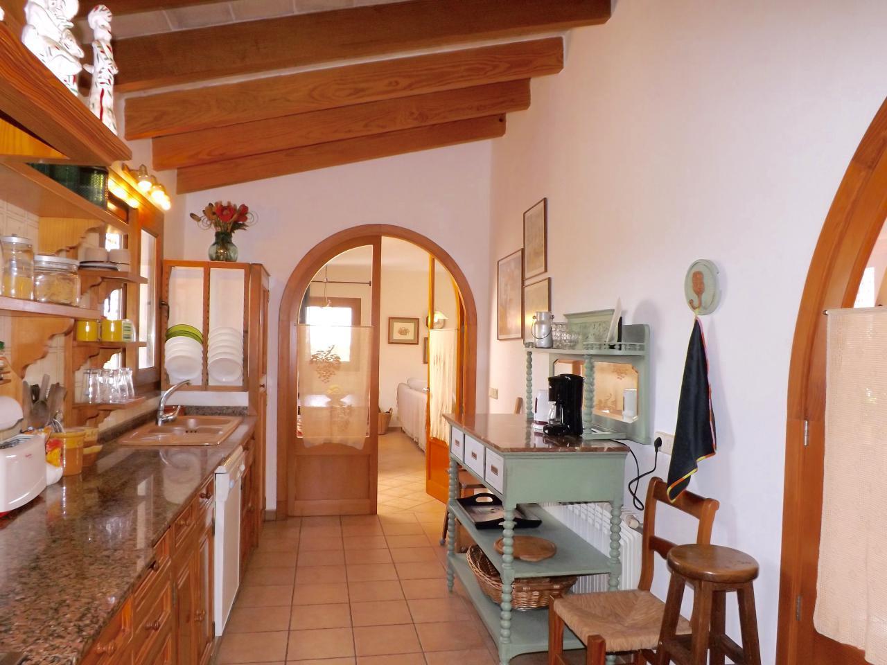 Villa in Cala Murada von 8 mit Meerblick Pool Wi Fi