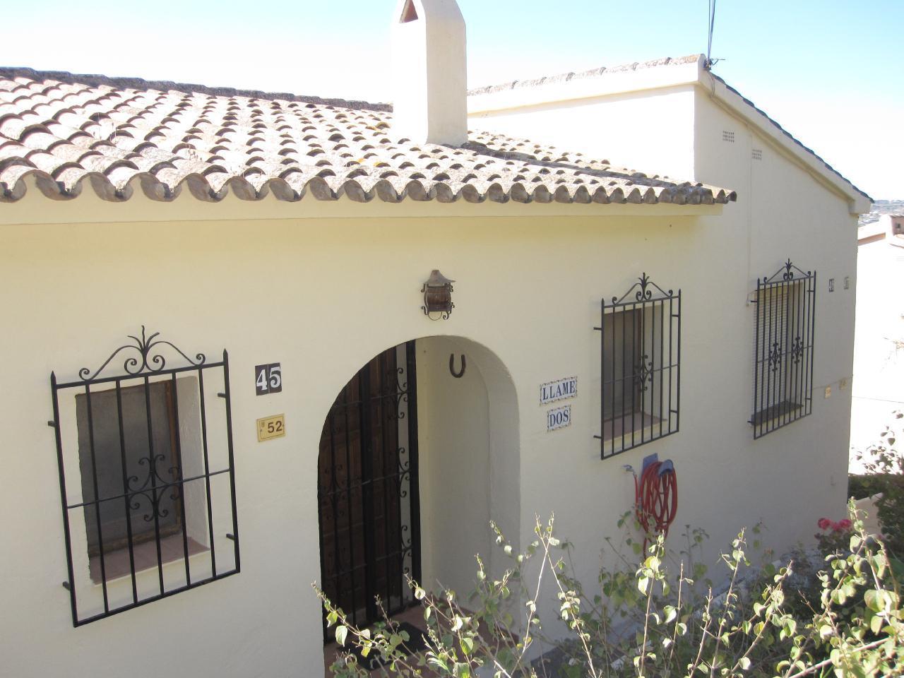 Ferienhaus Komfortabler Meerblick-Bungalow mit Aircondition und Internet in Moraira-Teulada (1696168), Moraira, Costa Blanca, Valencia, Spanien, Bild 2