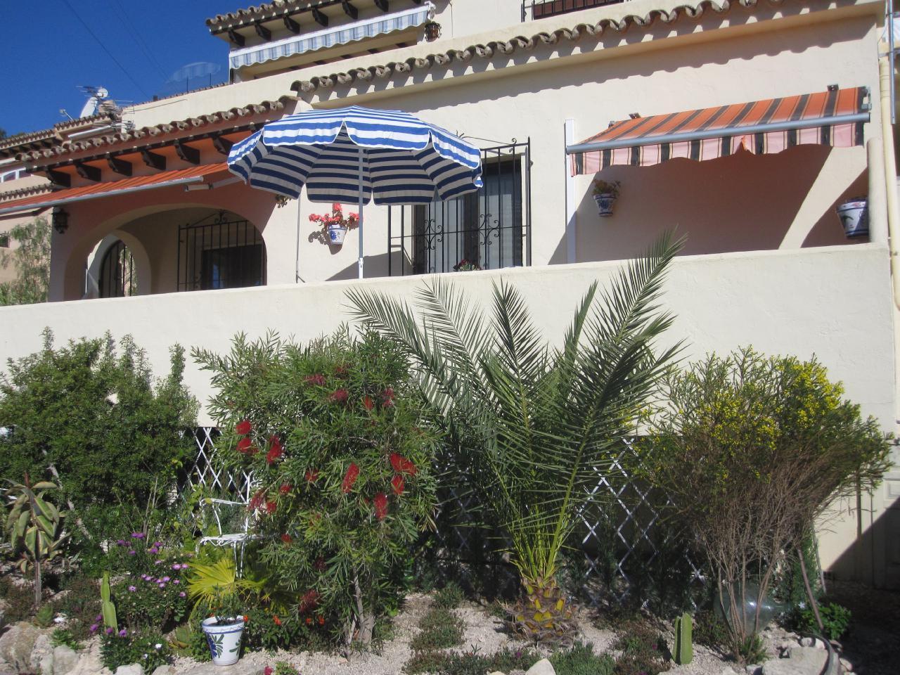 Ferienhaus Komfortabler Meerblick-Bungalow mit Aircondition und Internet in Moraira-Teulada (1696168), Moraira, Costa Blanca, Valencia, Spanien, Bild 4