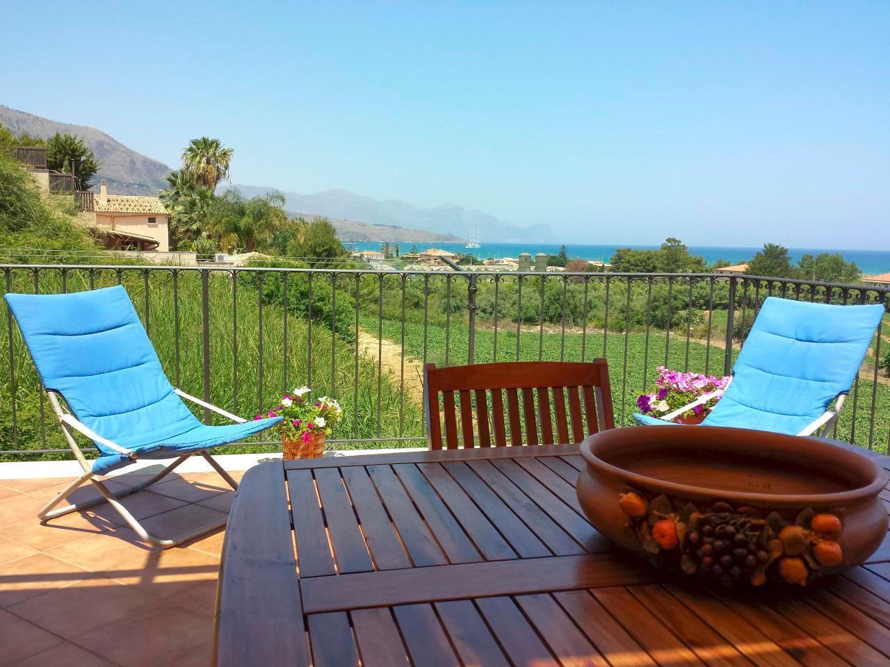 Maison de vacances Terraza Bella Vista - Garten - Wifi - 1 km vom Meer (1702639), Castellammare del Golfo, Trapani, Sicile, Italie, image 4