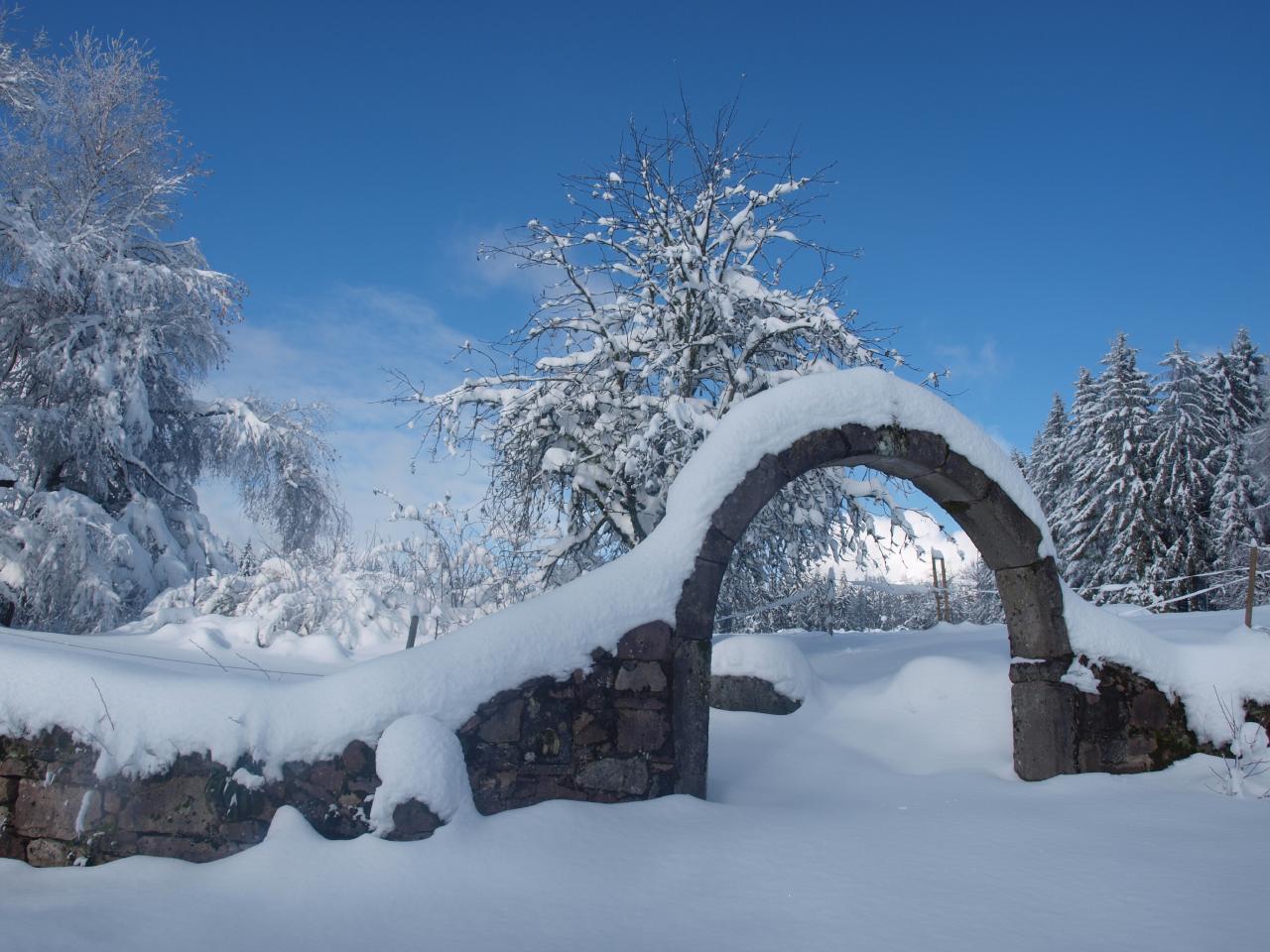 Ferienhaus Steinhäuschen Shila, im Naturparc der Vogesen,  mit Saunahaus (1717460), La Rosière, Haute-Saône, Franche-Comté, Frankreich, Bild 27
