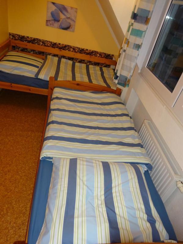Kinderschlafzimmer mit 2 Betten 90x190
