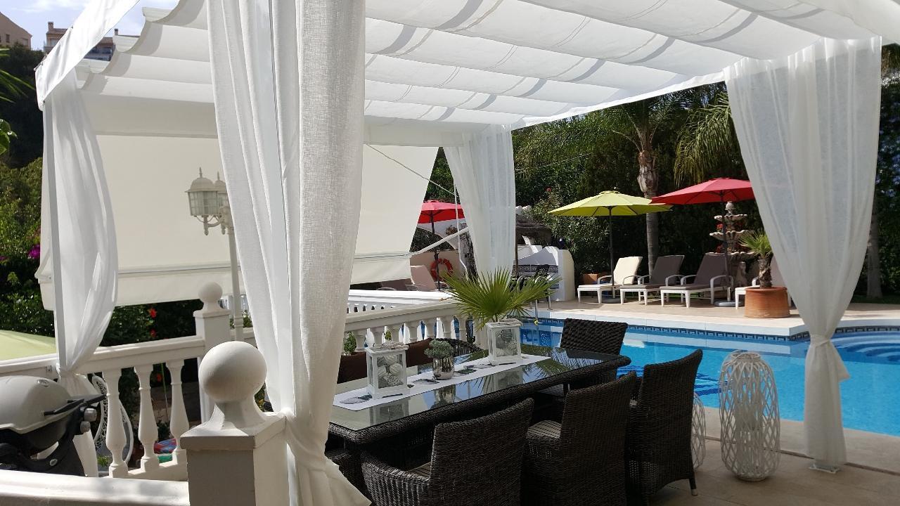 Ferienhaus VILLA LAS CHICAS - Moderne familienfreundliche Villa mit fantastischen Meerblick, großer P (178466), Fuengirola, Costa del Sol, Andalusien, Spanien, Bild 9