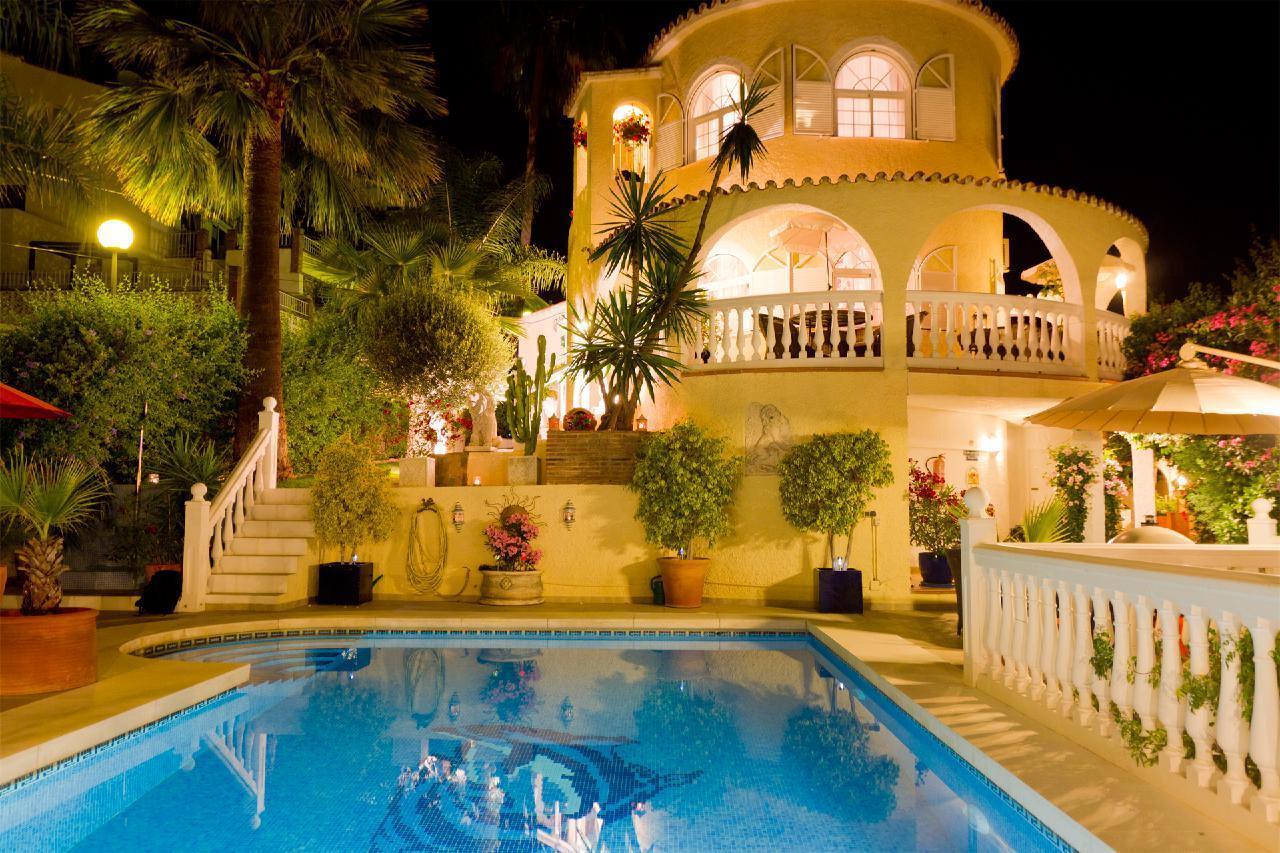 Ferienhaus VILLA LAS CHICAS - Moderne familienfreundliche Villa mit fantastischen Meerblick, großer P (178466), Fuengirola, Costa del Sol, Andalusien, Spanien, Bild 29