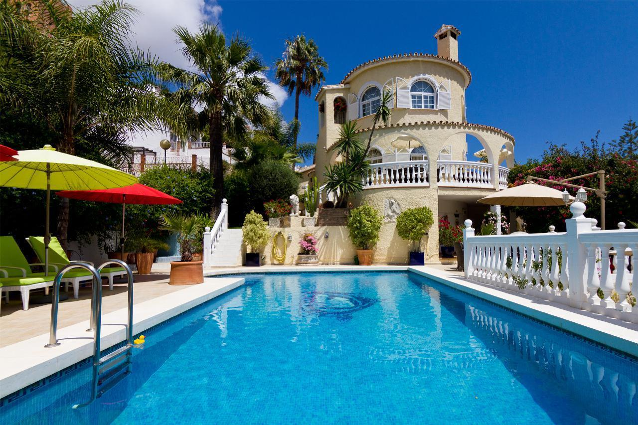 Ferienhaus VILLA LAS CHICAS - Moderne familienfreundliche Villa mit fantastischen Meerblick, großer P (178466), Fuengirola, Costa del Sol, Andalusien, Spanien, Bild 3