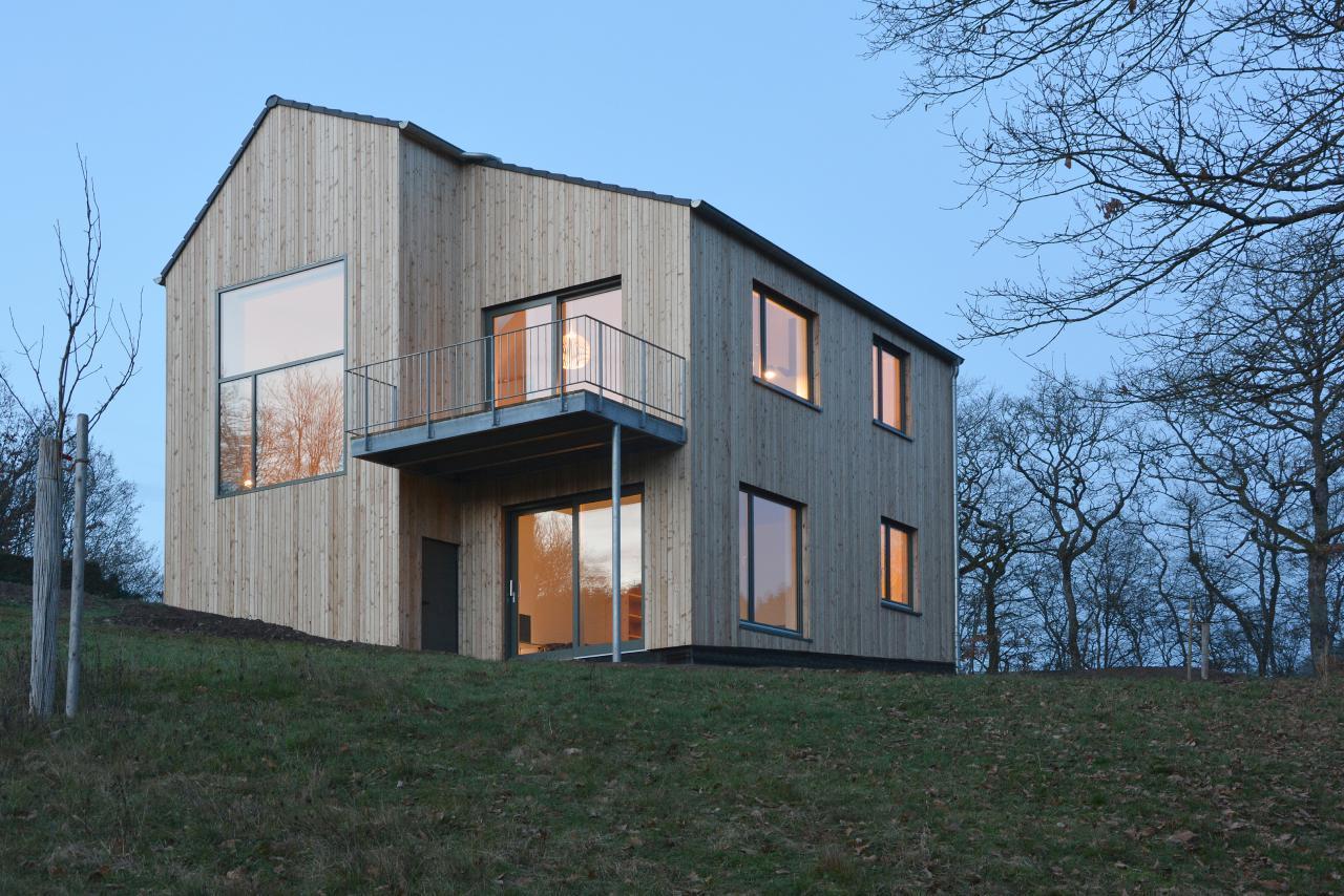 Moderner Holzhausneubau in der Eifel Ferienwohnung in Deutschland