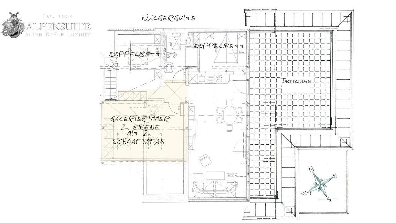 Ferienwohnung Exklusive Maisonette-Penthousewohnung mit großer Dachterrasse und Bergblick. im Zentrum vo (1856620), Riezlern (AT), Kleinwalsertal, Vorarlberg, Österreich, Bild 26