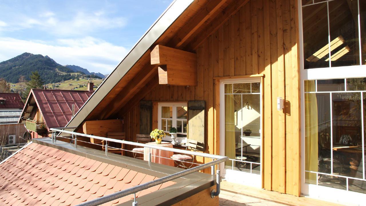Ferienwohnung Exklusive Maisonette-Penthousewohnung mit großer Dachterrasse und Bergblick. im Zentrum vo (1856620), Riezlern (AT), Kleinwalsertal, Vorarlberg, Österreich, Bild 24
