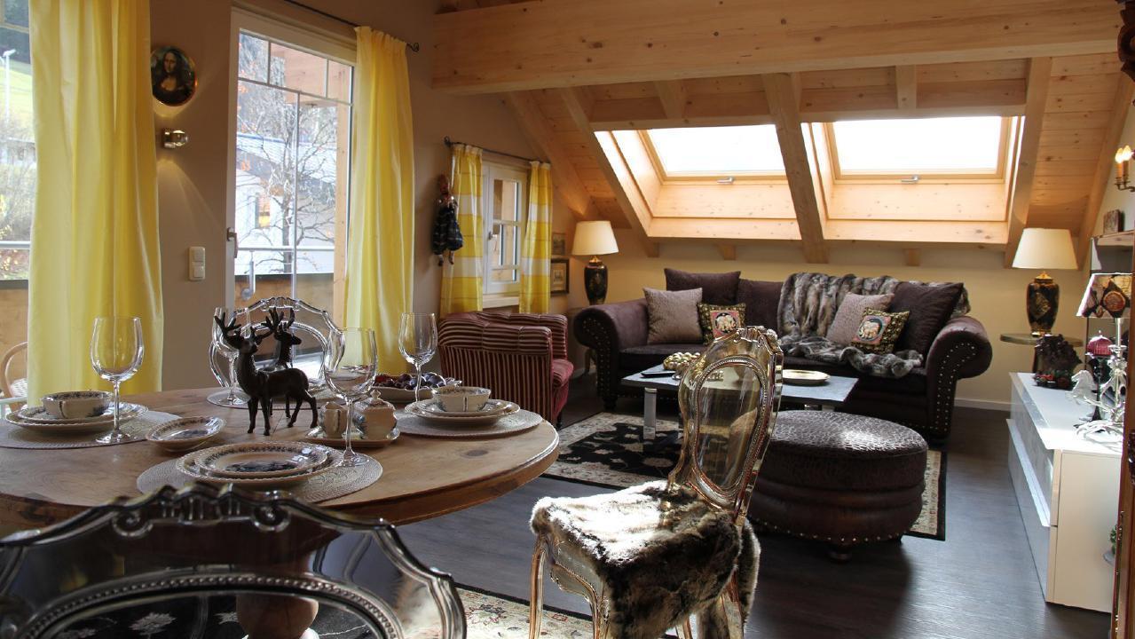 Ferienwohnung Exklusive Maisonette-Penthousewohnung mit großer Dachterrasse und Bergblick. im Zentrum vo (1856620), Riezlern (AT), Kleinwalsertal, Vorarlberg, Österreich, Bild 2