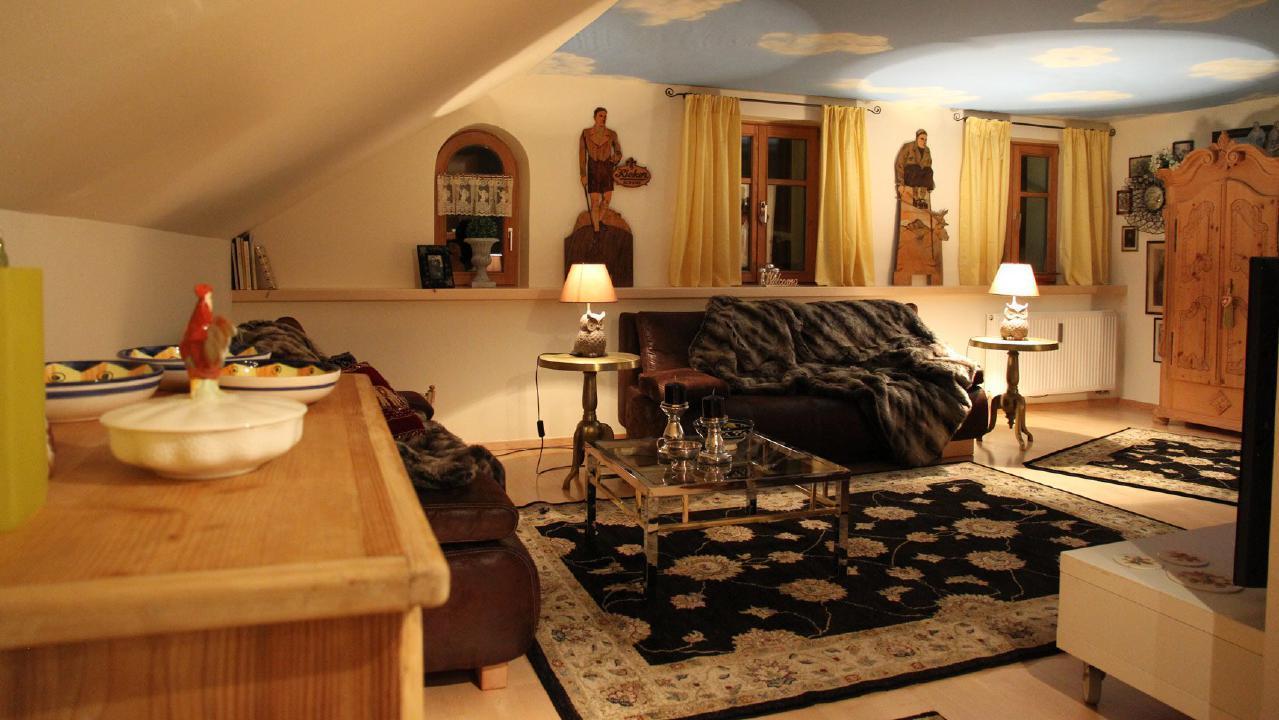 Appartement de vacances Traumhafte Maisonette-Ferienwohnung im alpinen Stil mit antiken Möbeln und modernen Access (1856638), Riezlern (AT), Kleinwalsertal, Vorarlberg, Autriche, image 8