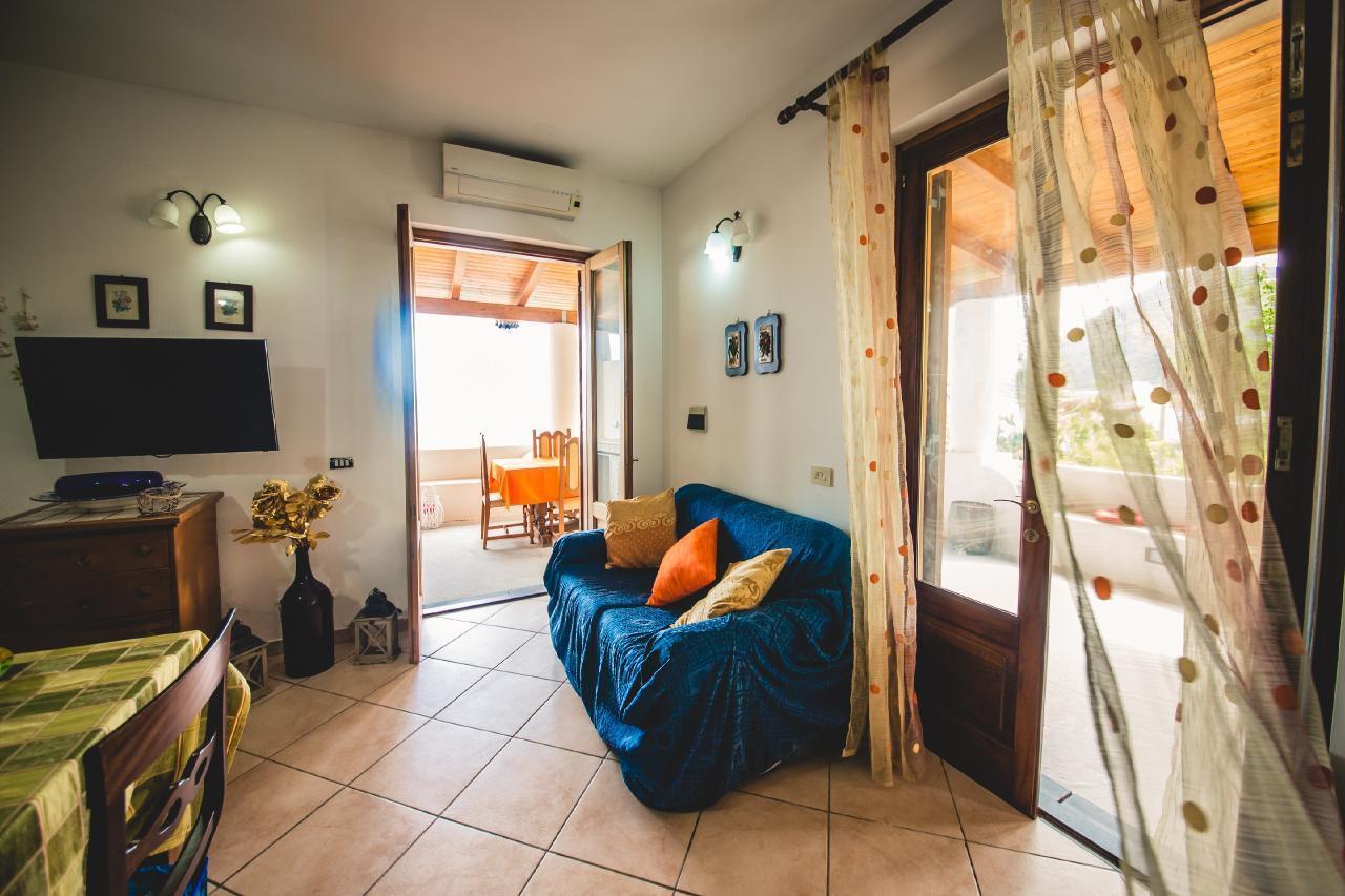 Appartement de vacances Wohnung mit einem Schlafzimmer mit Meerblick (1869706), Lipari, Lipari, Sicile, Italie, image 9