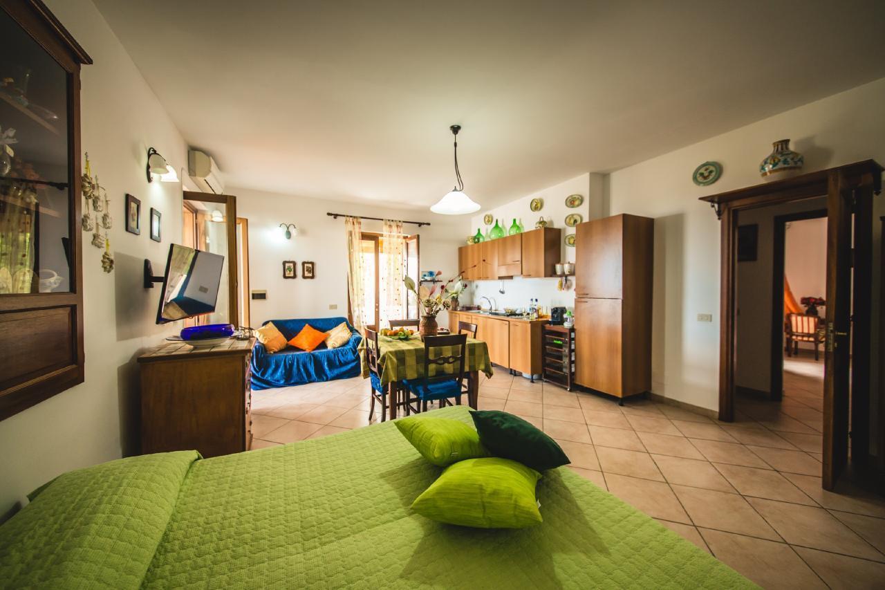 Appartement de vacances Wohnung mit einem Schlafzimmer mit Meerblick (1869706), Lipari, Lipari, Sicile, Italie, image 10