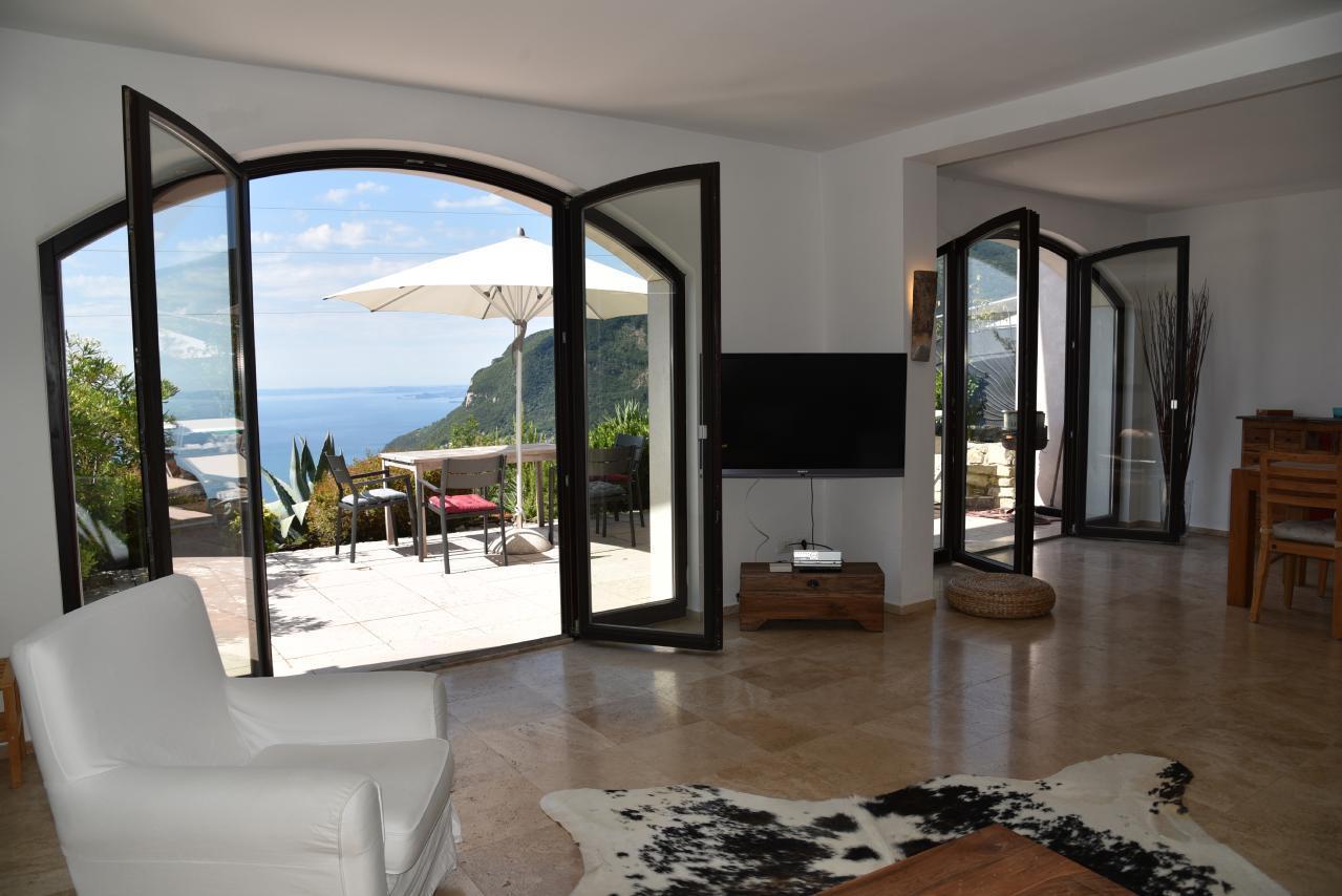 Traumwohnung mit Sonnenterrasse und sensationellem Ferienwohnung  Gardasee - Lago di Garda
