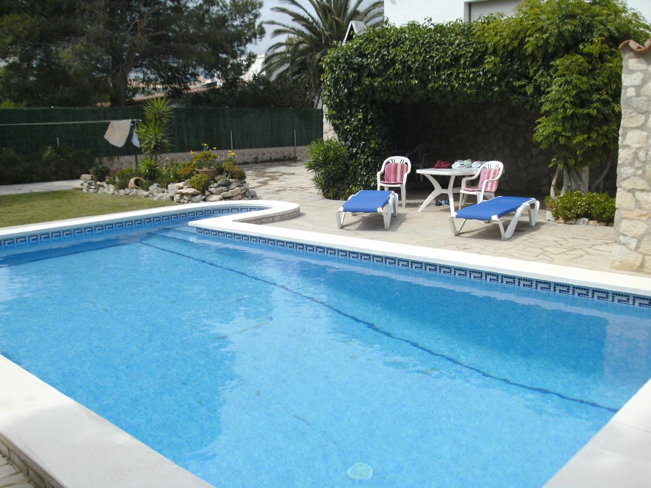 Ferienhaus mit WiFi Privat-Pool ohne Einsicht gute Preise (1901111), L'Ametlla de Mar, Costa Dorada, Katalonien, Spanien, Bild 2