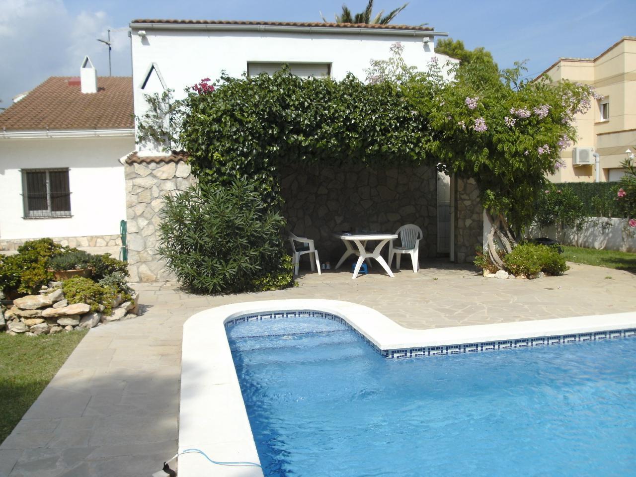 Ferienhaus mit WiFi Privat-Pool ohne Einsicht gute Preise (1901111), L'Ametlla de Mar, Costa Dorada, Katalonien, Spanien, Bild 3