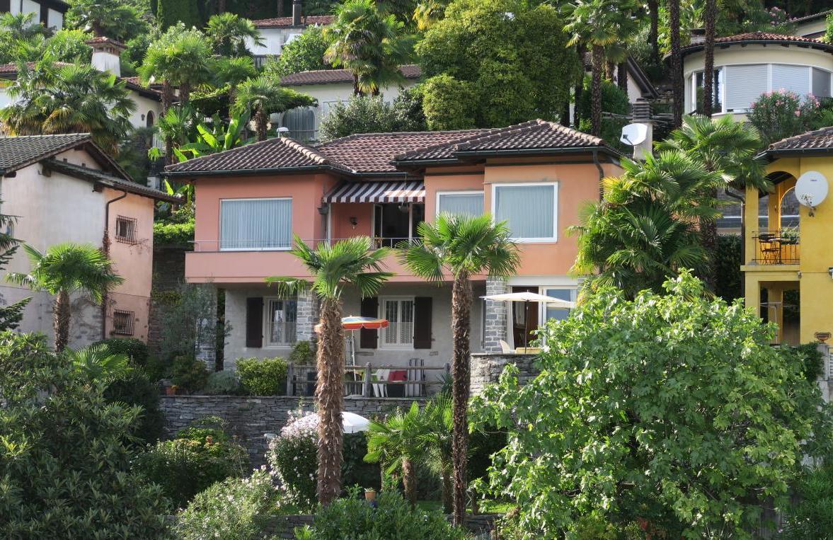 Holiday apartment ... zu Hause sicher -  unterwegs mit Bedacht... Il Réduit alle Rascane Orselina, Giardino (192974), Orselina, Lake Maggiore (CH), Ticino, Switzerland, picture 1