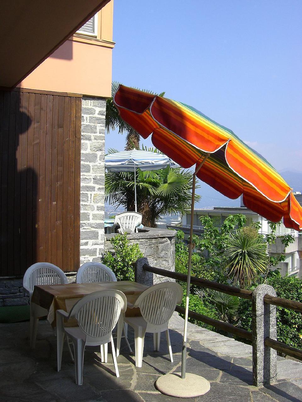 Holiday apartment ... zu Hause sicher -  unterwegs mit Bedacht... Il Réduit alle Rascane Orselina, Giardino (192974), Orselina, Lake Maggiore (CH), Ticino, Switzerland, picture 12
