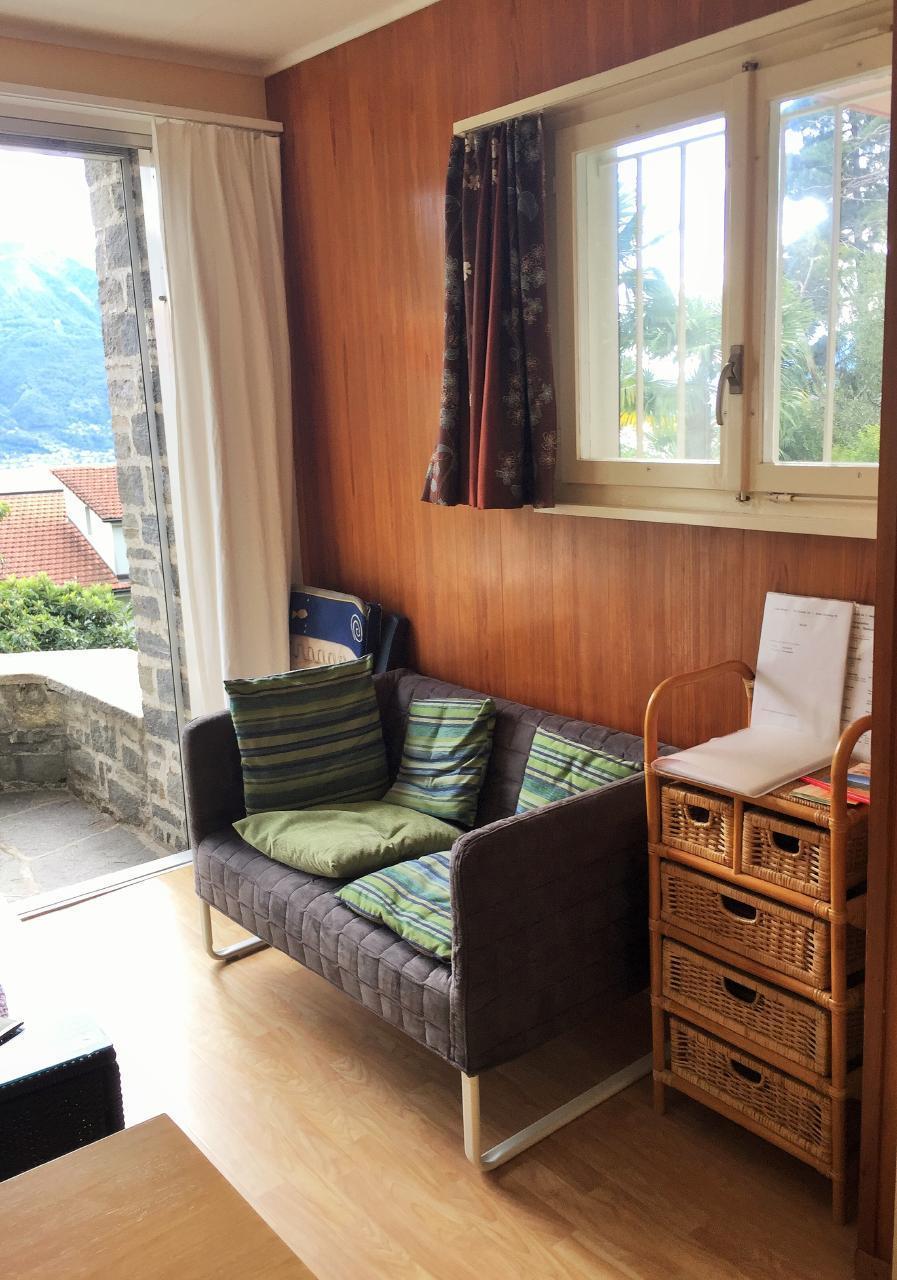 Holiday apartment ... zu Hause sicher -  unterwegs mit Bedacht... Il Réduit alle Rascane Orselina, Giardino (192974), Orselina, Lake Maggiore (CH), Ticino, Switzerland, picture 6
